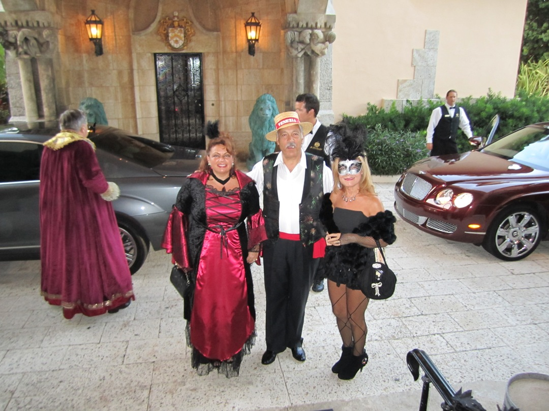 Mar a Lago Club Halloween Party Donald Trump