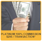 100% COMMISSION TO FLORIDA REALTORS