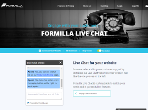 Live Chat Software For Your Website Formilla.com Live Chat Software
