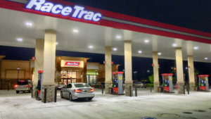 Gas Station Race tracc